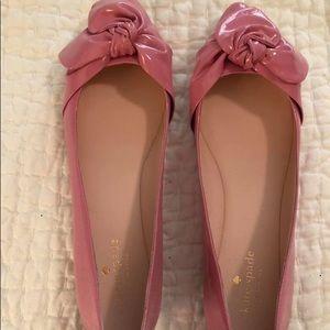 Shoes - Kate Spade Pink Ballet Flats Brand New